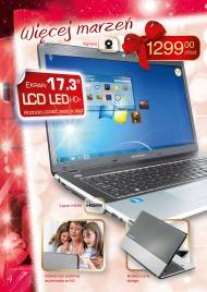 Laptop Acer emachines z Biedronki