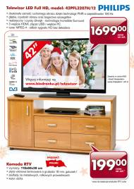 Telewizor Philips LED Full HD model 42PFL3207H/12 cena 1699PLN, ...
