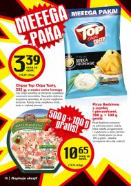 Top CHips Tasty - chipsy o smaku serka fromage. Pizza rodzinna ...