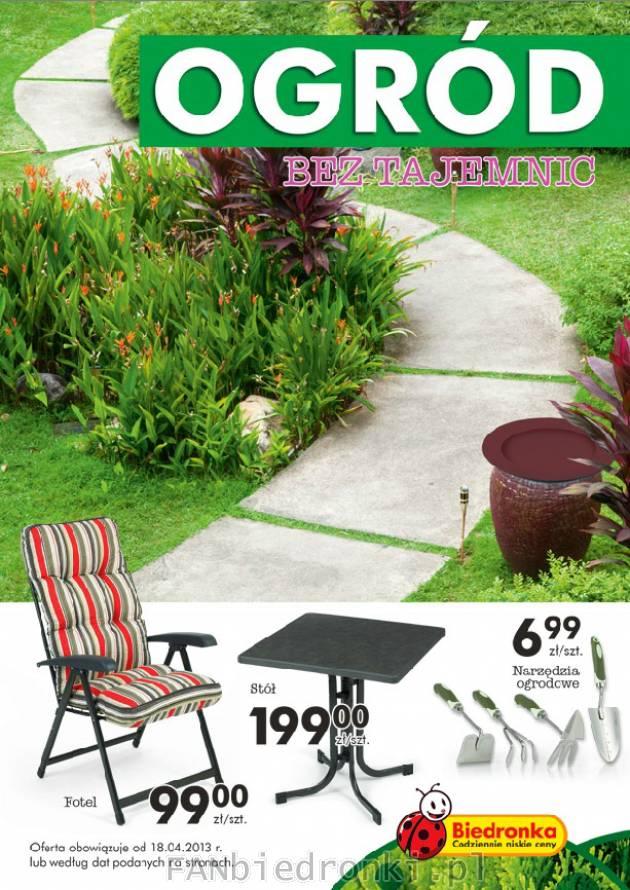 Biedronka Promocje Od 20130414 Ogród Balkon Kwiaty