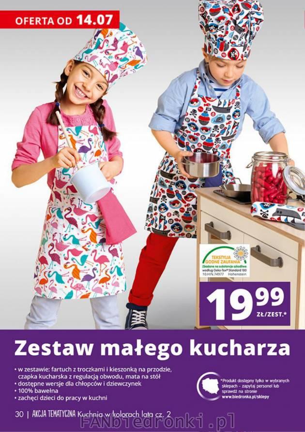 Zestaw Małego Kucharza Dla Dzieci Biedronka Fanbiedronki