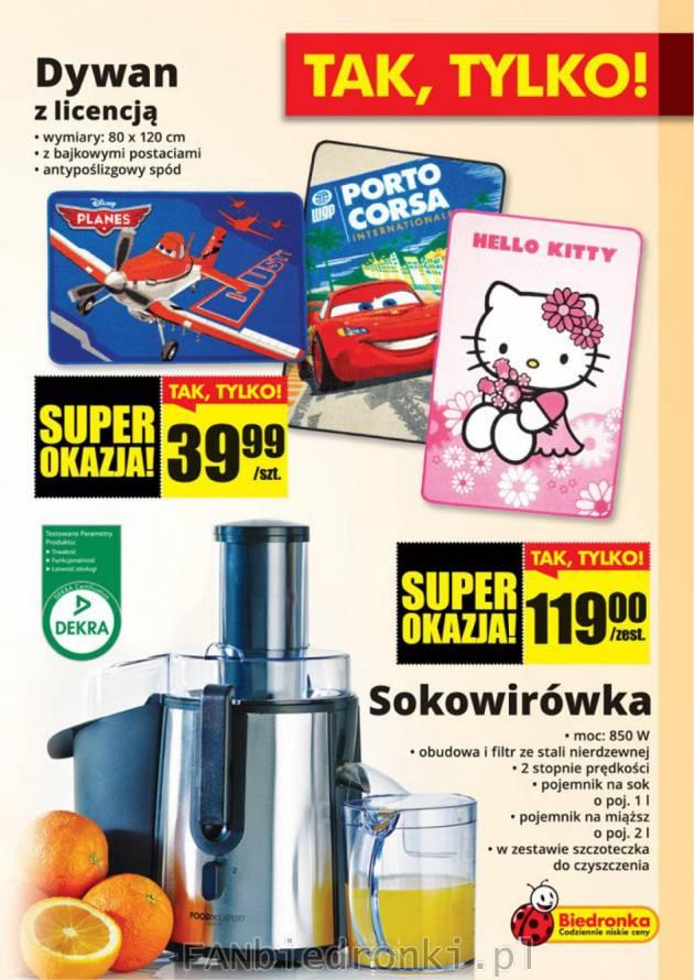 Sokowirówka z Biedronki Biedronka fanBIEDRONKI.pl бедронка.pl