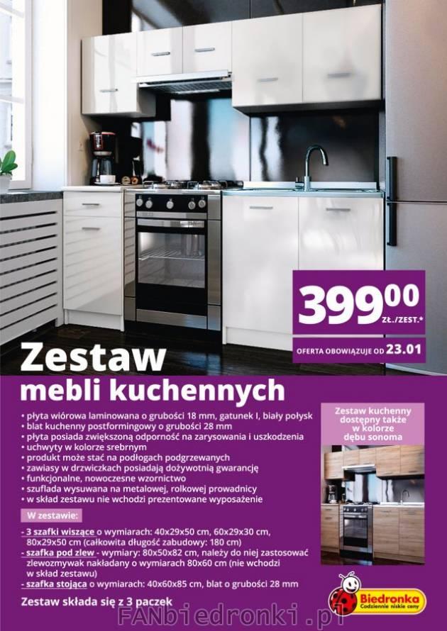 Zestaw mebli do kuchni Biedronka  fanBIEDRONKI pl бедронка pl -> Kuchnia Dziecieca Z Biedronki