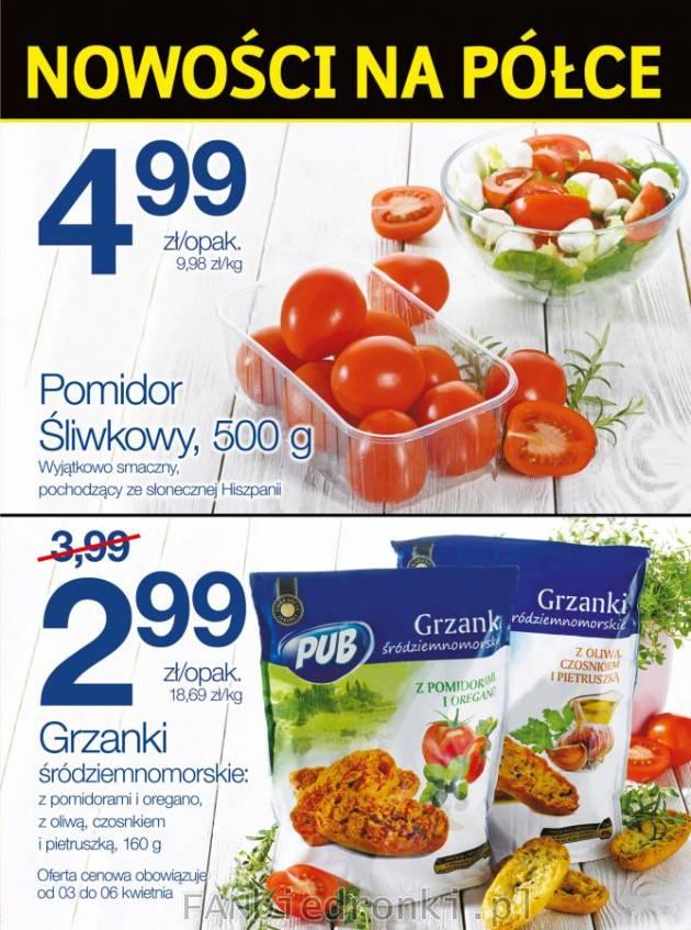 Pomidory śliwkowe W Nowościach Biedronki Biedronka